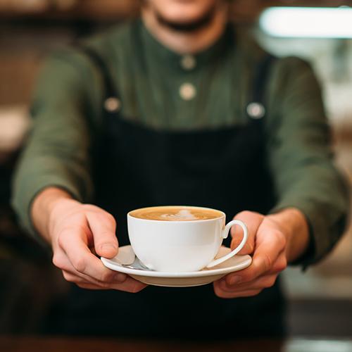 Sprzedaż kawy iekspresów dokawy